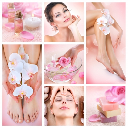 Spa Collage  Stock Photo - 12862882