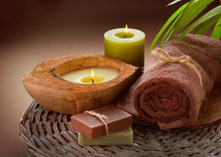 spa candle: Spa