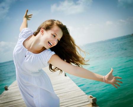 libertad: Libertad de vacaciones concepto