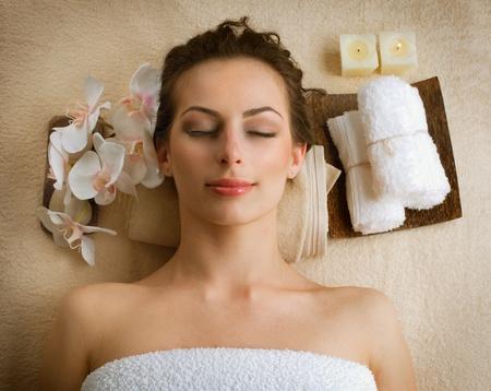 Spa Woman in Beauty Salon  photo