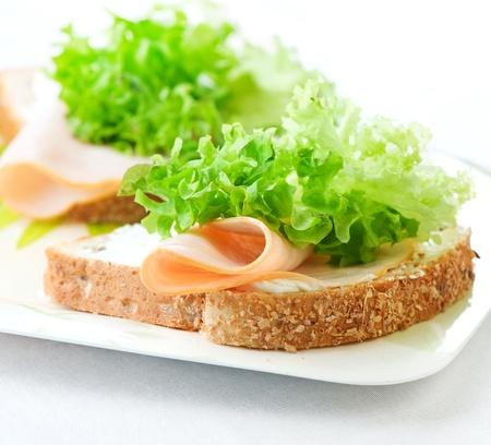 Sandwich Banque d'images - 13260684