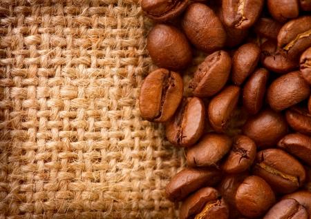burlap: Coffee Border design