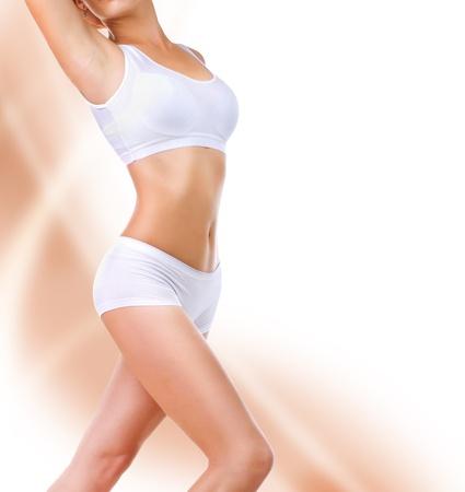femme en sous vetements: Perfect Body Banque d'images
