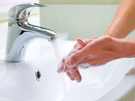 Washing Hands  Cleaning Hands  Hygiene photo