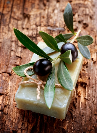 Handmade Olive Soap  Organic Cosmetics  photo