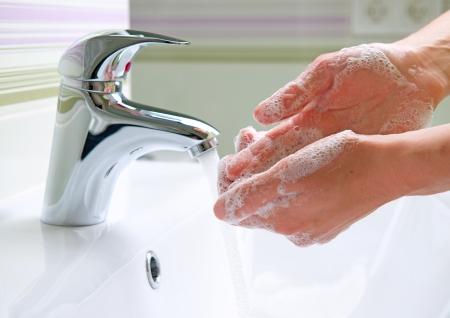 lavarse las manos: Lavado de manos Limpieza de higiene de las manos