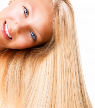 blonde  blue eyes: Blond Girl  Blonde Woman with Blue Eyes