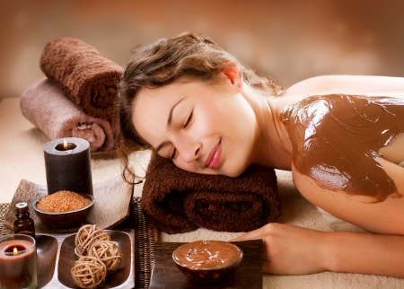 Spa Chocolate Mask  Luxury Spa Treatment  photo