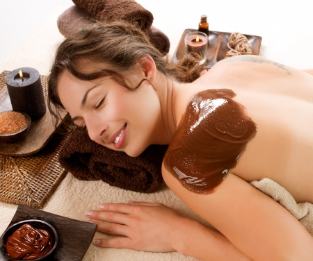 day spa: Spa Chocolate Mask  Luxury Spa Treatment