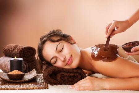 chocolate mask: Spa Chocolate Mask  Luxury Spa Treatment