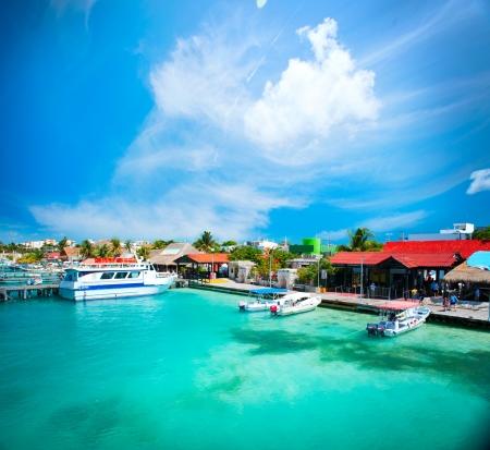 México Isla Mujeres, Cancún Foto de archivo