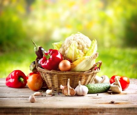 Légumes Biologiques Banque d'images - 15301990