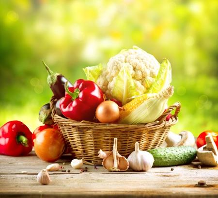 Organic Vegetables  Stock Photo - 15301963