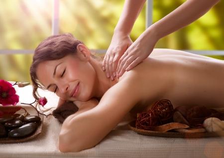 masaje: Masaje Salon Spa