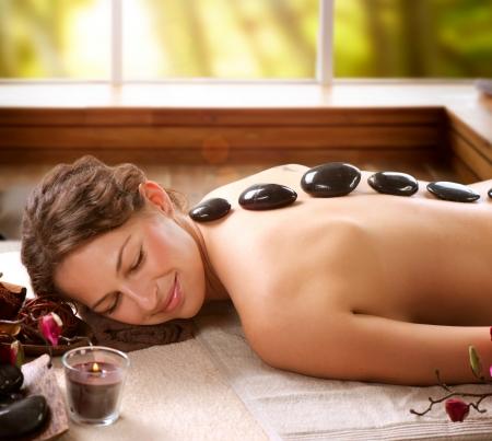 hot rock therapy: Spa Salon  Stone Massage  Dayspa