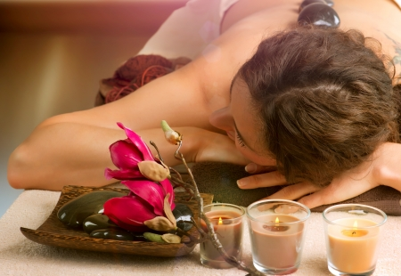 Spa  Hot Stone Massage  Dayspa  photo