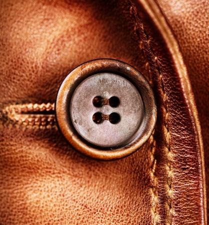 chaqueta: Textura de cuero marrón chaqueta de cuero genuino