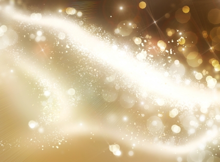 Christmas Holiday Golden Vintage Abstract Background photo