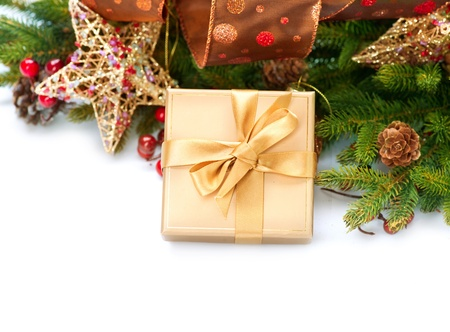 Christmas Gift and Decorations Stock Photo - 16313854