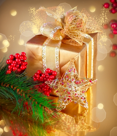 Christmas Gift and Decorations  Stock Photo - 16448879
