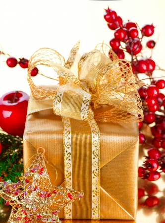 Christmas Gift and Decorations Stock Photo - 16590204