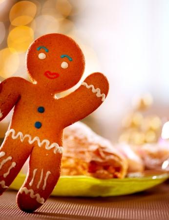 holiday food: Gingerbread Man  Christmas Holiday Food