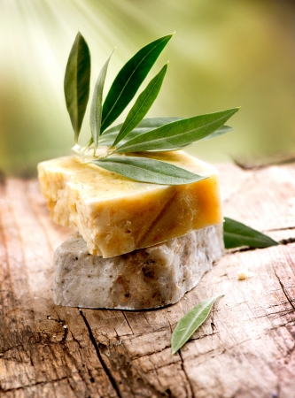 Handmade Olive Soap  Organic Cosmetics