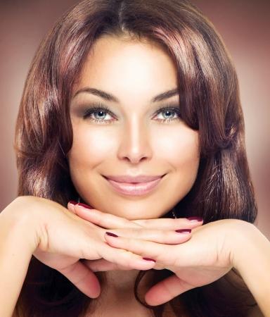 Beauty Woman Portrait  Beautiful Makeup