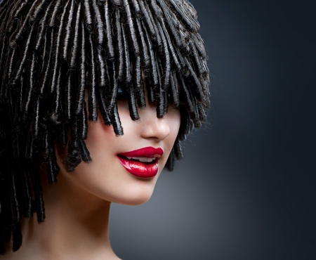Hairdress  Hairstyle Stock Photo - 17602614