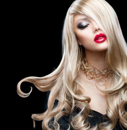 pesta�as postizas: Pelo rubio Hermosa Chica Rubia Sexy