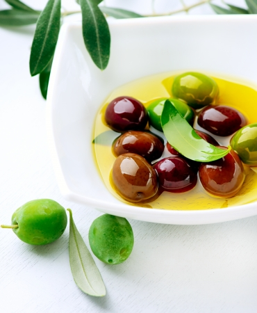 Olives and Olive Oil  photo