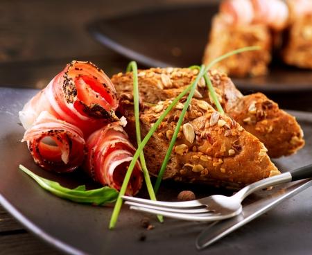 plato del buen comer: Italian Sausage Ham Various, Embutidos y Carne Alimentos tocino