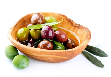 olive branch: Olives and Olive Oil  Stock Photo