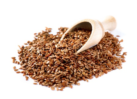flax seed: Flax seeds, Linseed, Lin seeds close-up