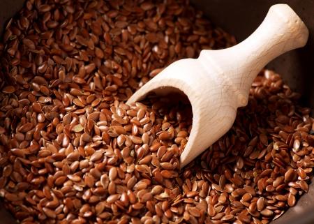 flax seeds: Flax seeds, Linseed, Lin seeds close-up