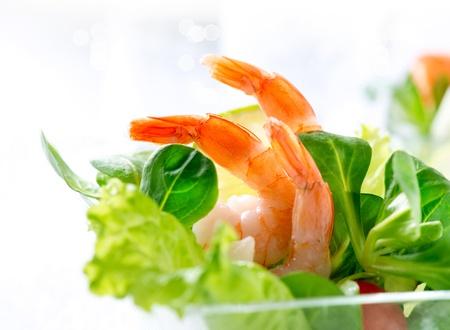 shrimp cocktail: Shrimp or Prawn Cocktail  Isolated on White Stock Photo