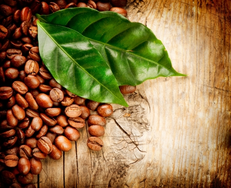 Coffee backround  With copy-space for text Stock Photo - 18697275