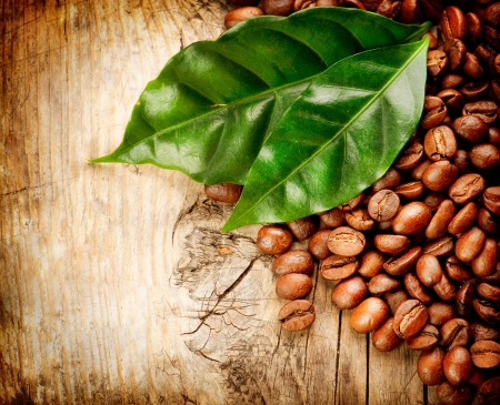 Coffee backround  With copy-space for text Stock Photo - 18892657