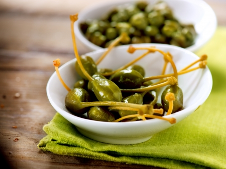 antipasto: Capers  Caperberries