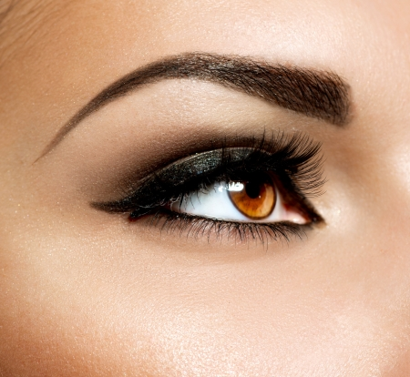 smoky eyes: Brown Eye Makeup  Eyes Make-up