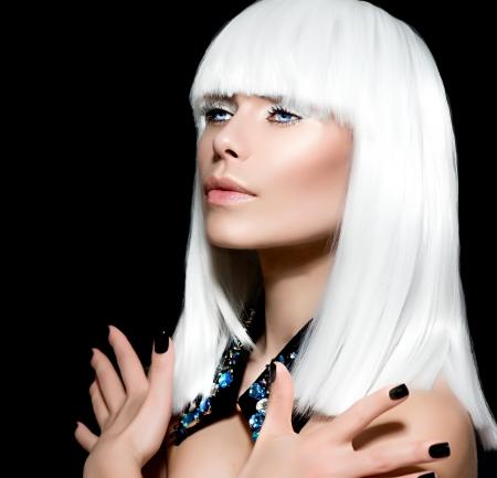 Fashion Vogue Style Model Portrait Stock Photo - 19167099