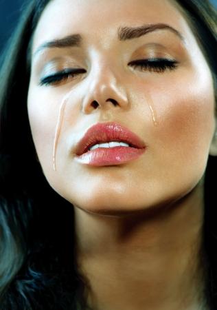 Huilen Vrouw Tranen Cry