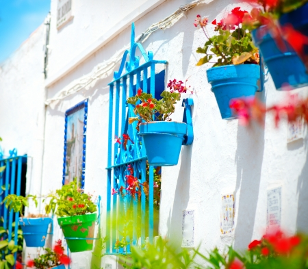 Torremolinos  Costa del Sol, Andalucia  Typical White Village Stock Photo - 20651035