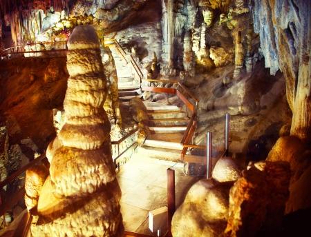 nerja: Cuevas de Nerja Cuevas de Nerja, una serie de cavernas en Espa�a Foto de archivo