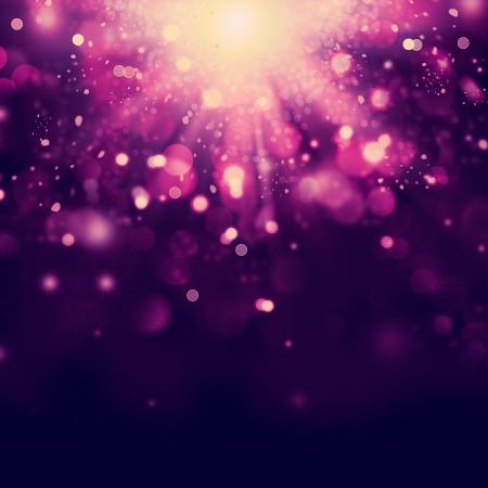 紫色の抽象的なクリスマス背景 写真素材