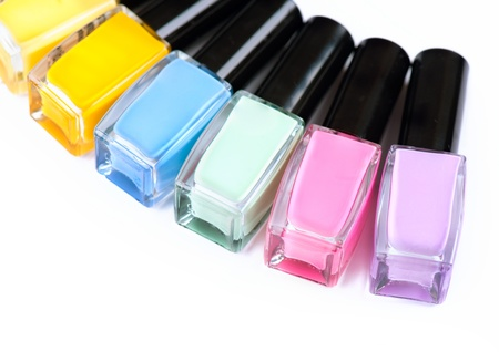 Nail Polish  Manicure  Colorful Nail Polish Bottles