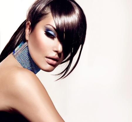 gorgeous woman: Fashion Beauty Girl  Gorgeous Woman Portrait