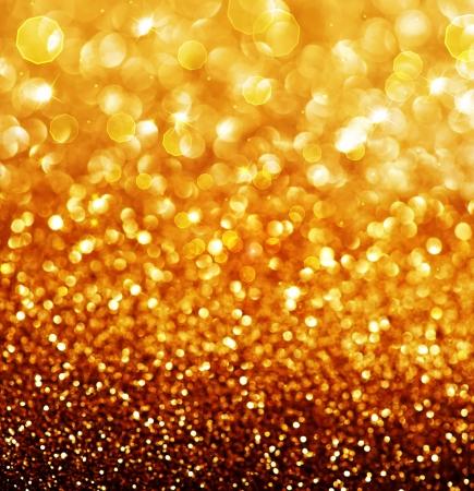 Abstract Golden Weihnachten und Neujahr Hintergrund Lizenzfreie Bilder