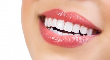 Teeth Whitening sonrisa saludable Concepto de atención dental Foto de archivo - 21749108