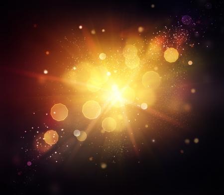 blinking: Gold Festive Christmas